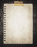 Έγγραφο για το βράχο στοκ φωτογραφίες με δικαίωμα ελεύθερης χρήσης