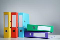 έγγραφο γραφείων γραμματοθηκών εξαρτημάτων κάτω Στοκ φωτογραφία με δικαίωμα ελεύθερης χρήσης