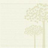 Έγγραφο επιστολών δέντρων Στοκ φωτογραφία με δικαίωμα ελεύθερης χρήσης