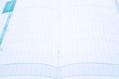 Έγγραφο ημερολογιακών προτύπων διοργανωτών επάνω στενό Στοκ εικόνα με δικαίωμα ελεύθερης χρήσης