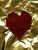 έγγραφο καρδιών πλαισίων Στοκ Εικόνες