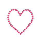 Έγγραφο καρδιών στοκ εικόνα με δικαίωμα ελεύθερης χρήσης