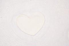 έγγραφο καρδιών κατασκευασμένο Στοκ εικόνες με δικαίωμα ελεύθερης χρήσης