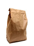 έγγραφο μεσημεριανού γεύματος τσαντών Στοκ εικόνα με δικαίωμα ελεύθερης χρήσης