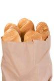 έγγραφο πακέτων ψωμιού στοκ εικόνες