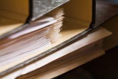 έγγραφο περίπτωσης Στοκ φωτογραφίες με δικαίωμα ελεύθερης χρήσης