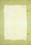 έγγραφο πλαισίων που λεκιάζουν Στοκ Εικόνες