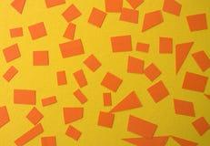 έγγραφο που σχίζεται πορτοκάλι ανασκόπησης κί&tau στοκ φωτογραφία με δικαίωμα ελεύθερης χρήσης