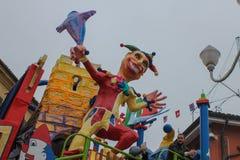 Έγγραφο ρομπότ mache στο καρναβάλι Στοκ εικόνα με δικαίωμα ελεύθερης χρήσης
