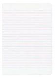 Έγγραφο σημειωματάριων με ζωηρόχρωμο Στοκ φωτογραφία με δικαίωμα ελεύθερης χρήσης