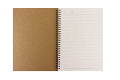 Έγγραφο σημειωματάριων Στοκ εικόνα με δικαίωμα ελεύθερης χρήσης