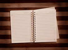 έγγραφο σημειώσεων στοκ εικόνες με δικαίωμα ελεύθερης χρήσης