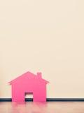 έγγραφο σπιτιών Έννοια ακίνητων περιουσιών στέγασης Στοκ φωτογραφίες με δικαίωμα ελεύθερης χρήσης