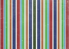Έγγραφο στη γραμμή χρώματος που επικαλύπτεται Στοκ Φωτογραφίες
