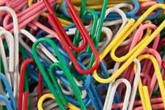 έγγραφο συνδετήρων χάου&sigm Στοκ φωτογραφία με δικαίωμα ελεύθερης χρήσης