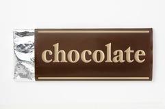 έγγραφο συσκευασίας σοκολάτας Στοκ Εικόνες