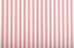 Έγγραφο τοίχων με το κόκκινο ριγωτό σχέδιο Στοκ Φωτογραφίες