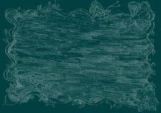 Έγγραφο τοίχων πεταλούδων Στοκ φωτογραφία με δικαίωμα ελεύθερης χρήσης