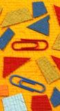 έγγραφο χρώματος συνδετή& Στοκ εικόνα με δικαίωμα ελεύθερης χρήσης