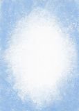 Έγγραφο Grunge - μπλε ανασκόπηση Απεικόνιση αποθεμάτων