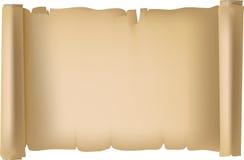 Έγγραφο Pergament στοκ εικόνα με δικαίωμα ελεύθερης χρήσης