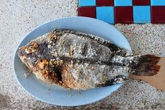 Έγκαυμα ψαριών σχαρών στοκ φωτογραφίες με δικαίωμα ελεύθερης χρήσης