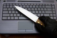 έγκλημα cyber Στοκ φωτογραφίες με δικαίωμα ελεύθερης χρήσης