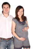 έγκυες νεολαίες ατόμων &ka στοκ φωτογραφίες
