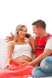 έγκυες νεολαίες γυνα&iota Στοκ Εικόνες