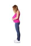 έγκυος έφηβος Στοκ εικόνες με δικαίωμα ελεύθερης χρήσης