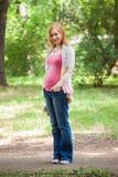 έγκυος γυναίκα πορτρέτο&u στοκ φωτογραφίες