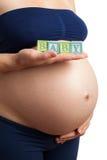 Έγκυος γυναίκα Στοκ Φωτογραφία