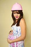 έγκυος κατώτερος κορι&ta στοκ φωτογραφία με δικαίωμα ελεύθερης χρήσης