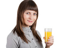 Έγκυος όμορφη γυναίκα που απομονώνεται στο λευκό Στοκ φωτογραφίες με δικαίωμα ελεύθερης χρήσης