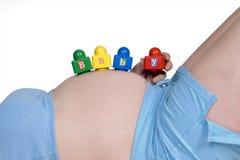 έγκυος Στοκ Εικόνες