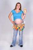 έγκυος Στοκ εικόνες με δικαίωμα ελεύθερης χρήσης