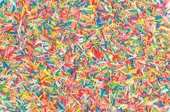 Έγχρωμος μέθυσος βιομηχανιών ζαχαρωδών προϊόντων Πάσχας στοκ εικόνες με δικαίωμα ελεύθερης χρήσης