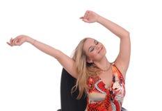 έγχρωμο κορίτσι πολλά sundress Στοκ φωτογραφίες με δικαίωμα ελεύθερης χρήσης