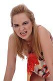 έγχρωμο κορίτσι πολλά sundress Στοκ εικόνες με δικαίωμα ελεύθερης χρήσης