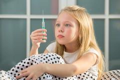 Έγχυση, εμβολιασμός Στοκ φωτογραφία με δικαίωμα ελεύθερης χρήσης