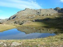 έδαφος λιμνών κοντά στον π&lambda Στοκ Εικόνες