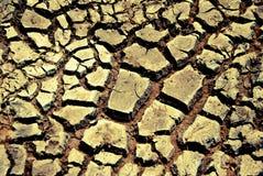 Έδαφος ξηρασίας Στοκ Φωτογραφίες