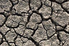 Έδαφος ξηρασίας Στοκ εικόνες με δικαίωμα ελεύθερης χρήσης