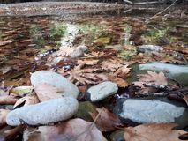 Έδαφος ποταμών Voidomatis, Ελλάδα στοκ φωτογραφίες