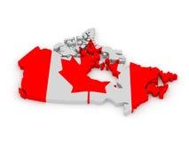 Έδαφος του Καναδά Στοκ φωτογραφία με δικαίωμα ελεύθερης χρήσης