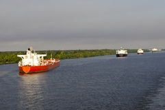 έδεσε τα σκάφη Στοκ εικόνα με δικαίωμα ελεύθερης χρήσης