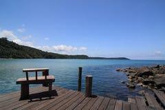 έδρα κοντά στη θάλασσα στοκ φωτογραφίες με δικαίωμα ελεύθερης χρήσης