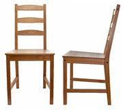 έδρα πέρα από άσπρο ξύλινο Στοκ Εικόνα