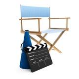 έδρα σκηνοθέτης s απεικόνιση αποθεμάτων