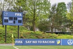 Έδρα της FIFA στη Ζυρίχη Στοκ εικόνα με δικαίωμα ελεύθερης χρήσης